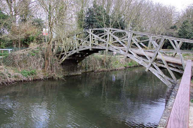 The Mathematical Bridge at Iffley - geograph.org.uk - 1253545