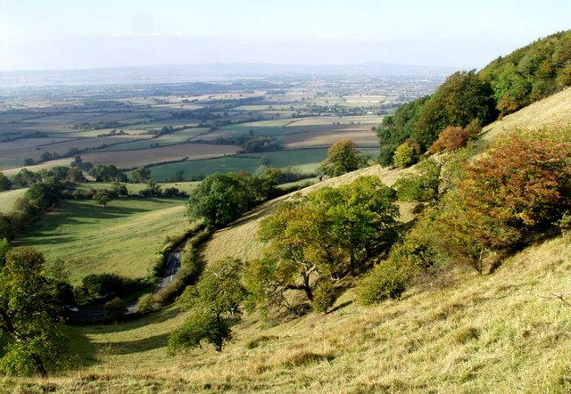The Severn Vale viewed from Coaley Peak - geograph.org.uk - 1630694