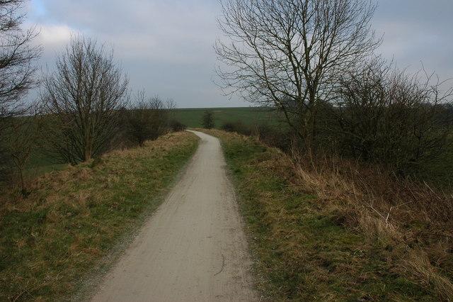 The Tissington Trail, near Tissington - geograph.org.uk - 698691