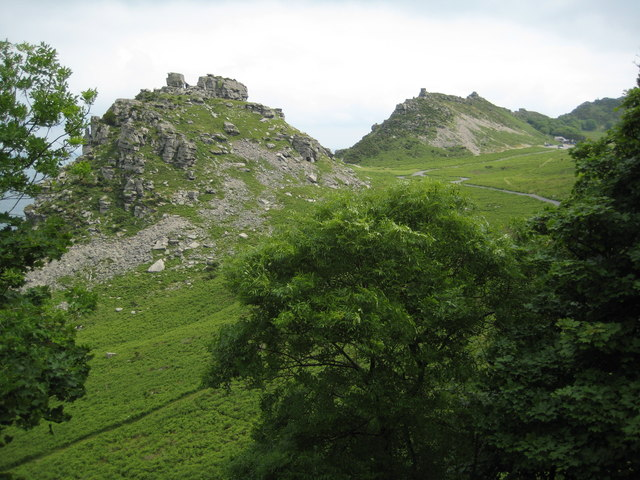 The Valley of the Rocks - geograph.org.uk - 1471533