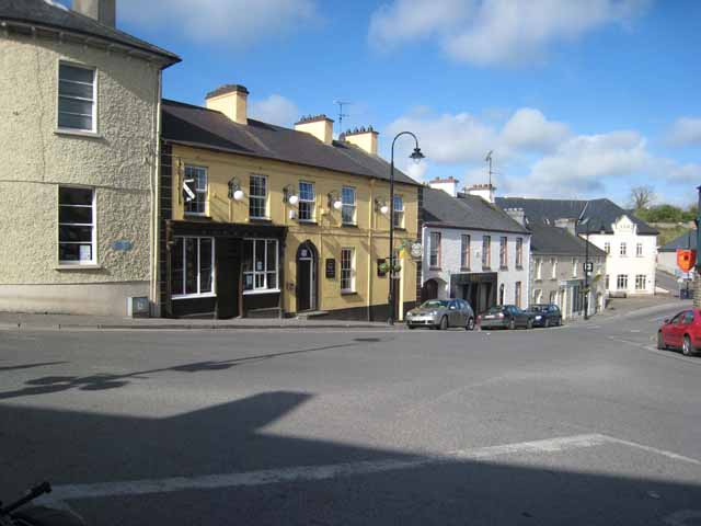 Top end of Church Street, Drumshanbo - geograph.org.uk - 798110