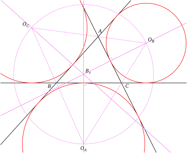 cercles inscrit et exinscrits d u0026 39 un triangle  u2014 wikip u00e9dia