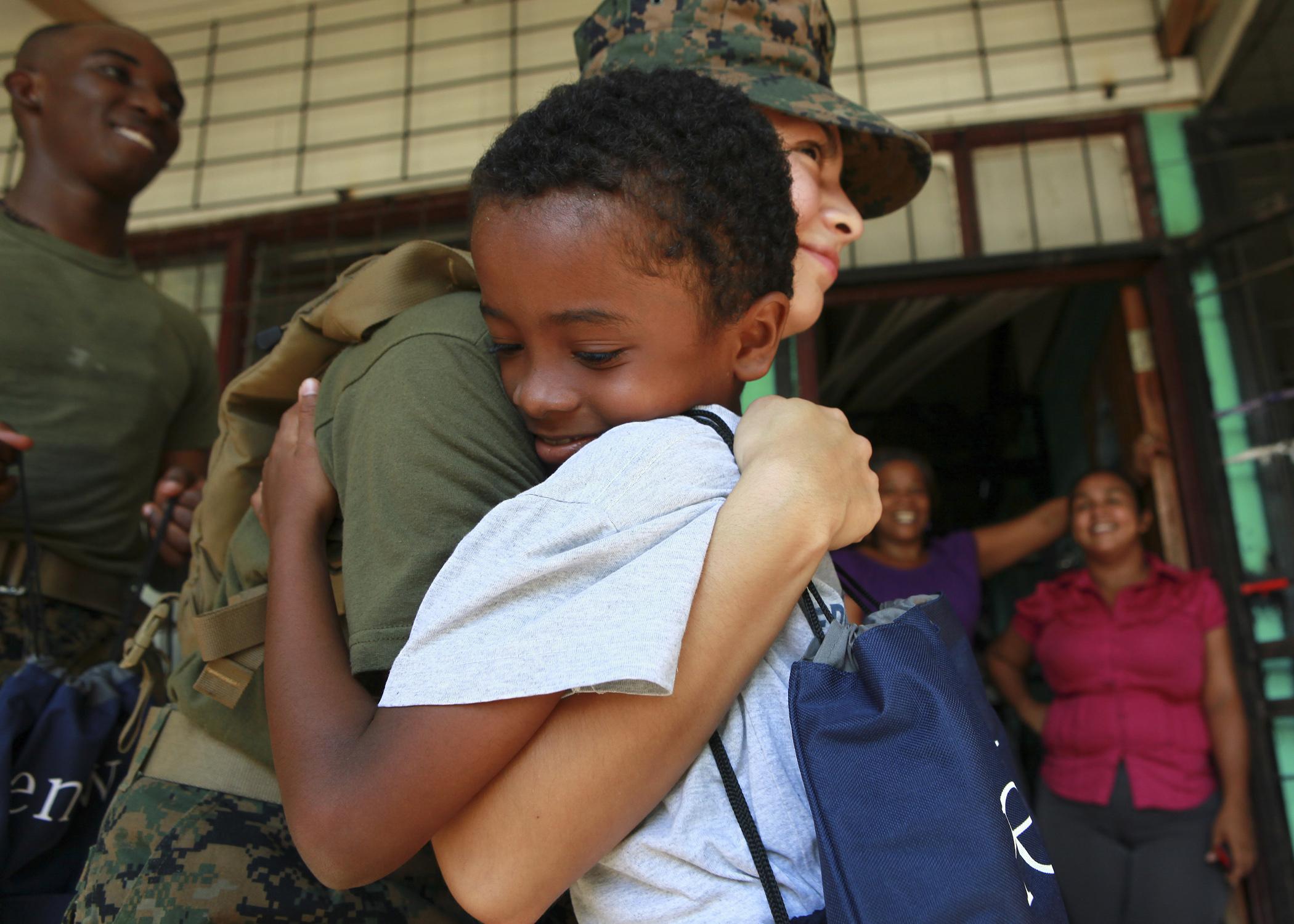 File:U.S. Marine Corps Lance Cpl. Faviola D. Mora, a food service