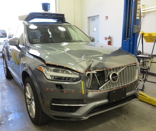 File:Uber Self Driving Car - postcrash png - Wikipedia
