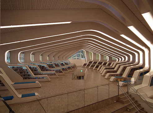 Interior in Vennesla Library