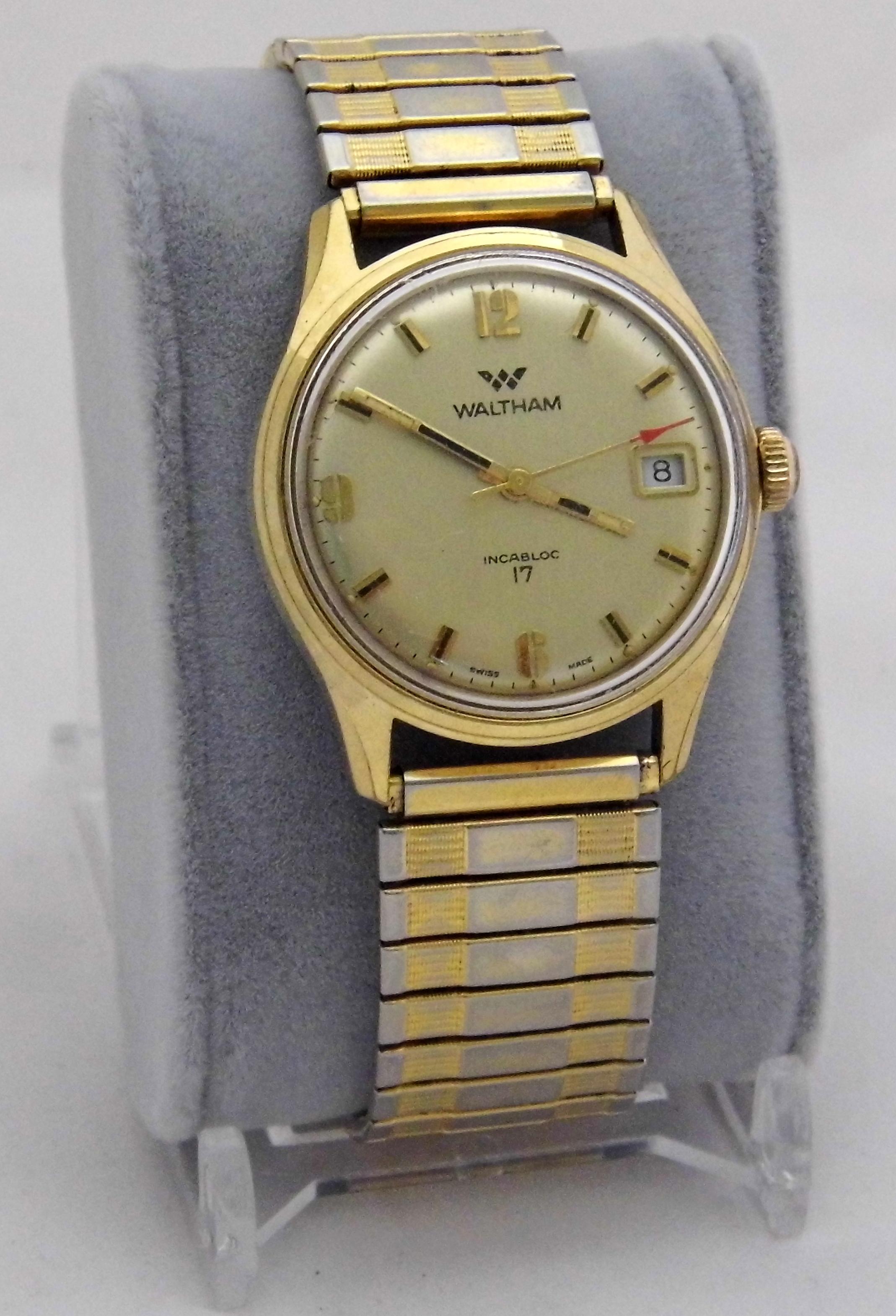 aefd8a58c1f Waltham 17 Jewels vintage watch Waltham 17 Jewels vintage watch