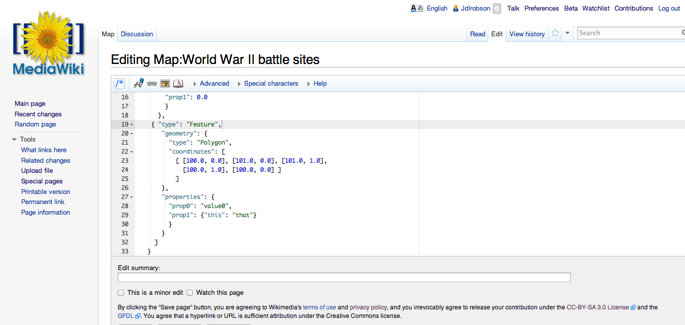 Vision of how editing a map namespace might look on MediaWiki 2014-03-05 12-40.png