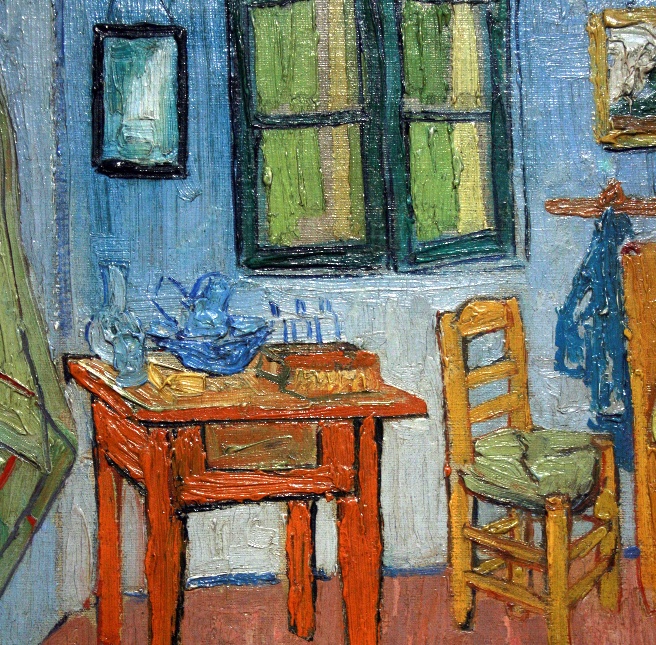 Vincents bedroom on pinterest bedroom in arles vincent for Bedroom in arles