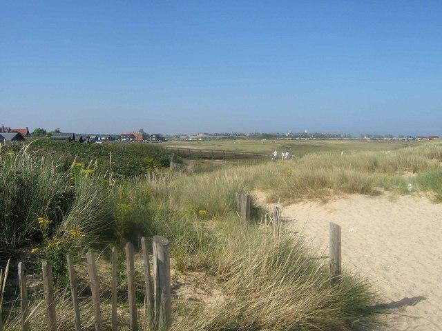 Walberswick dunes - geograph.org.uk - 133083