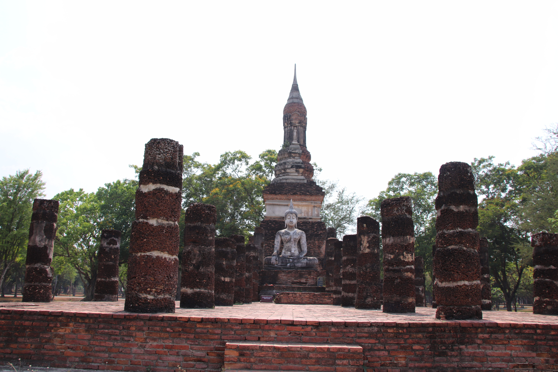File Wat Mahathat Sukhothai Historical Park Jpg Wikimedia Commons