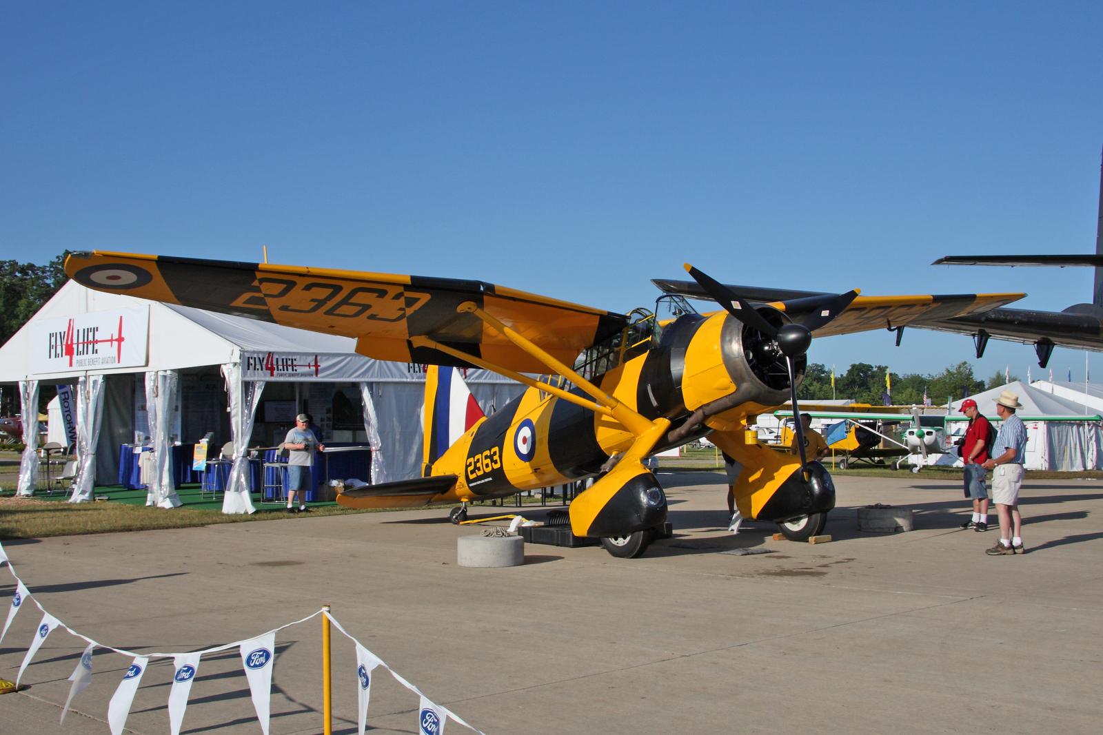 File:Westland Lysander 2363 at 2009 Oshkosh Air Show Flickr 3821375214.jpg