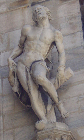 Statue of a martyr, Milan Cathedral