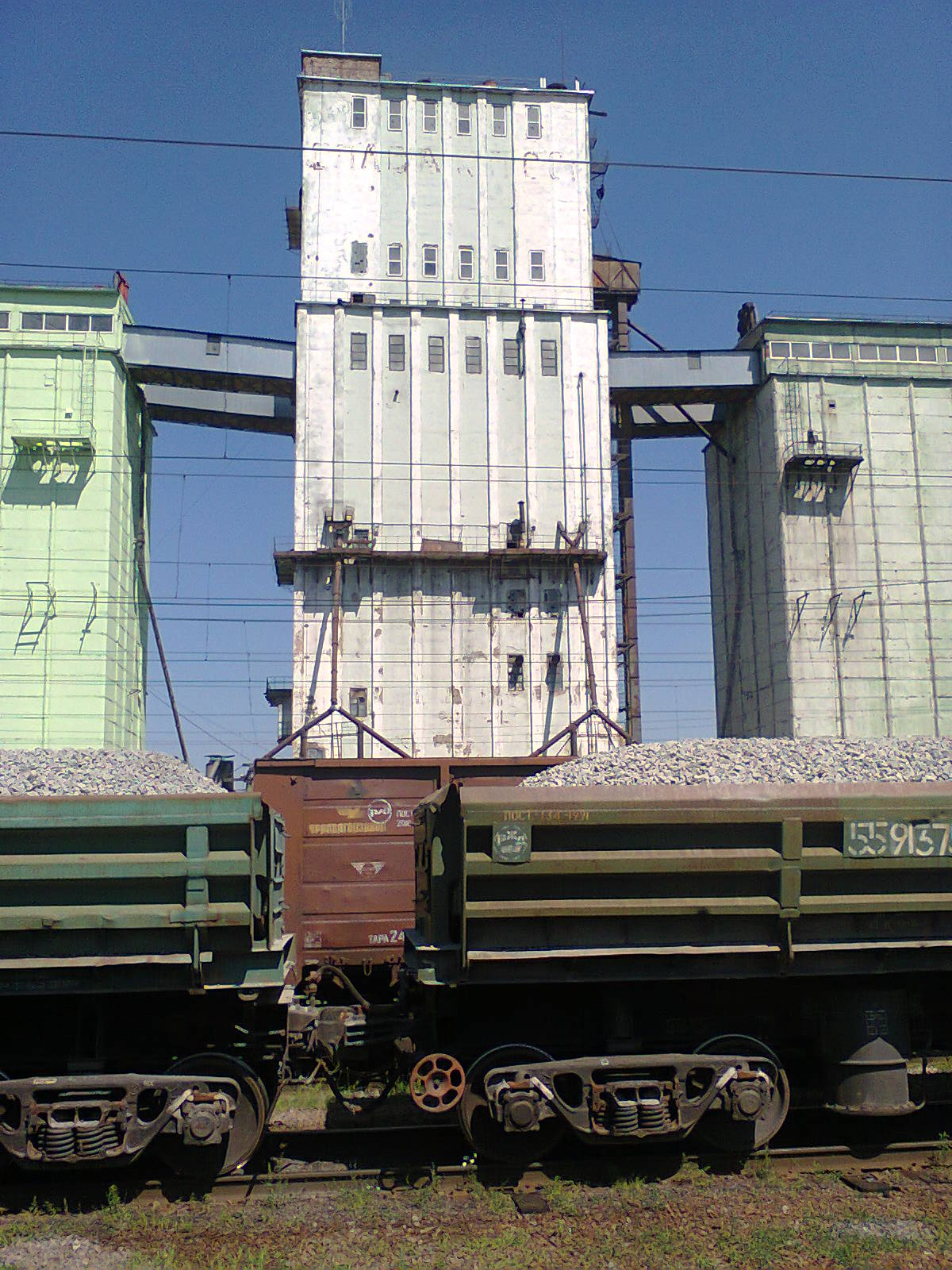 Элеватор таловая рабочий у конвейера