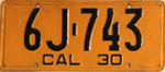 1930 California license plate 6J-743.jpg
