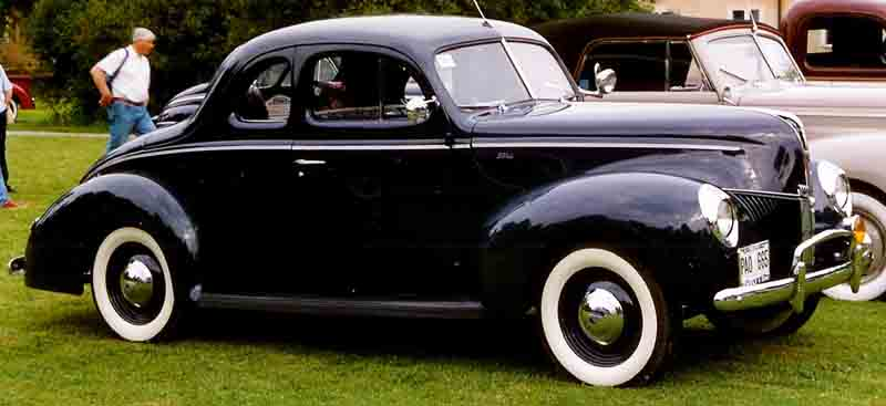 Image result for 40 ford standard coupe pics