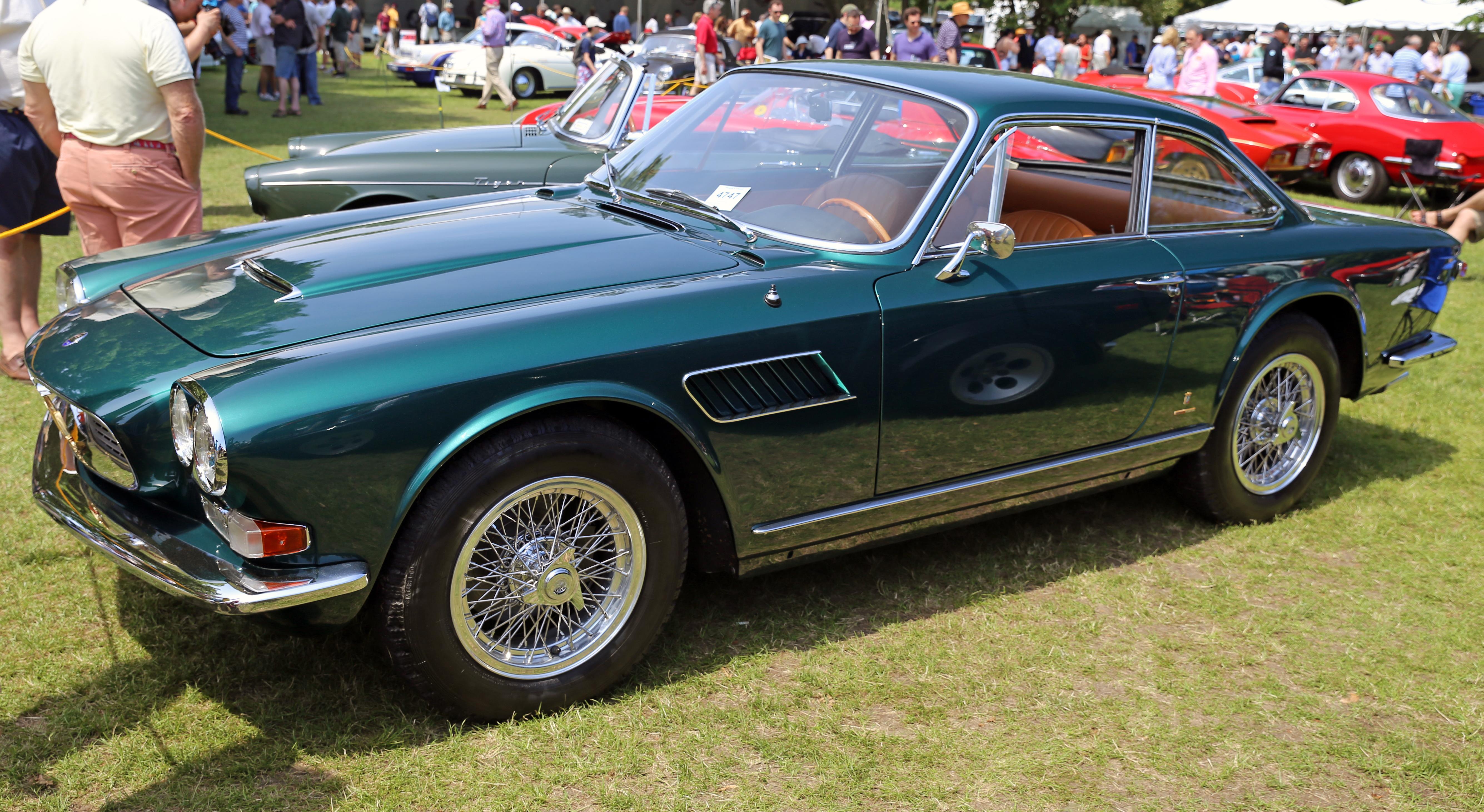 File 1965 Maserati Sebring Series Ii Green Jpg Wikimedia