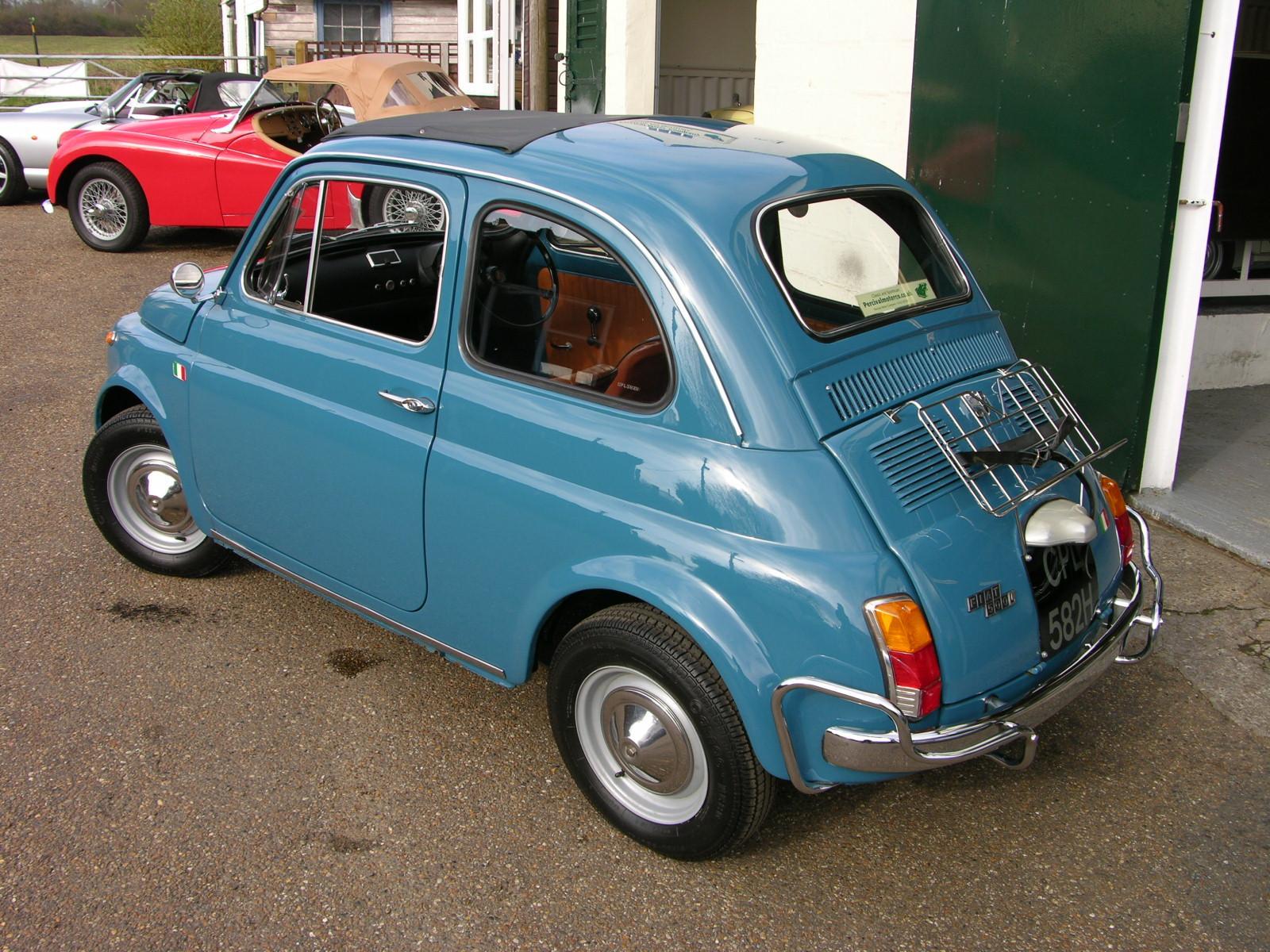 File 1970 Fiat 500l Flickr The Car Spy Jpg Wikimedia