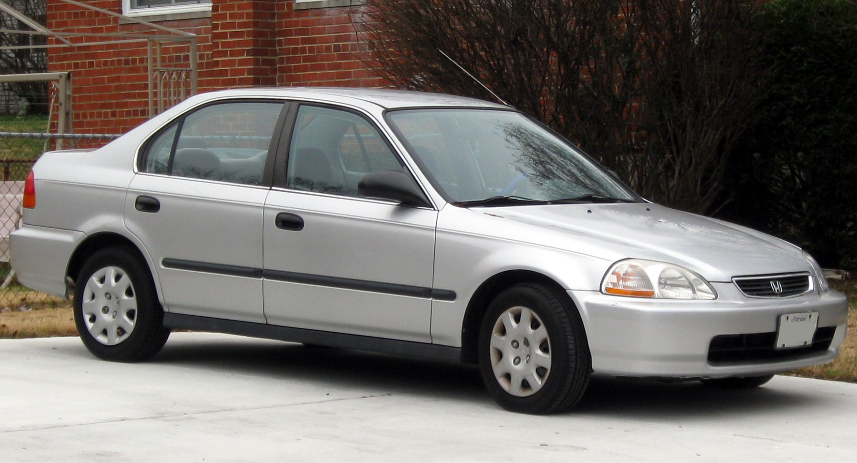 1998 Honda Civic Dx Sedan 1 6l Manual