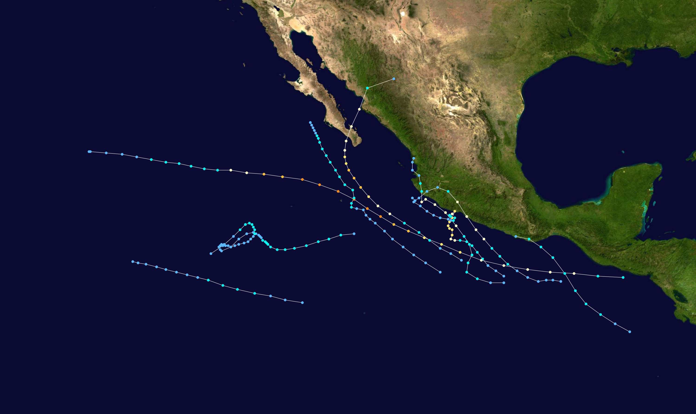 1996 Pacific hurricane season Wikiwand