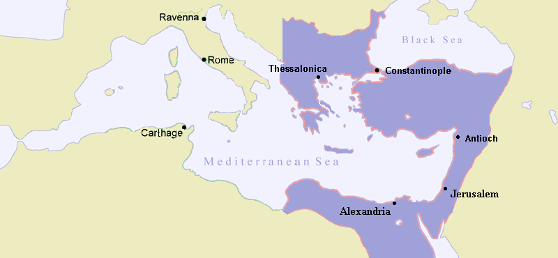 Roman Empire Map 476 Ad