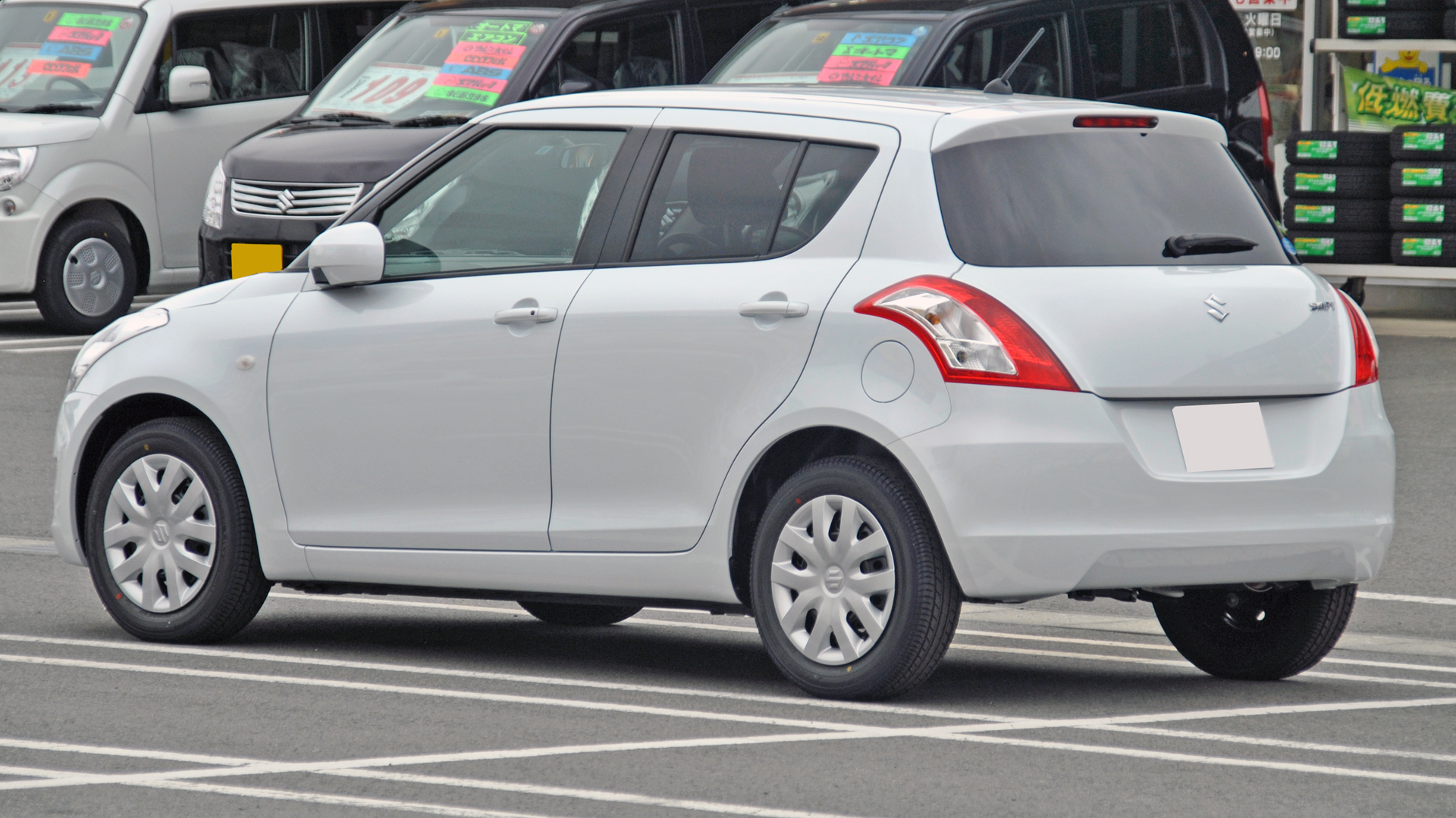 File 3rd Suzuki Swift 2 Jpg Wikimedia Commons