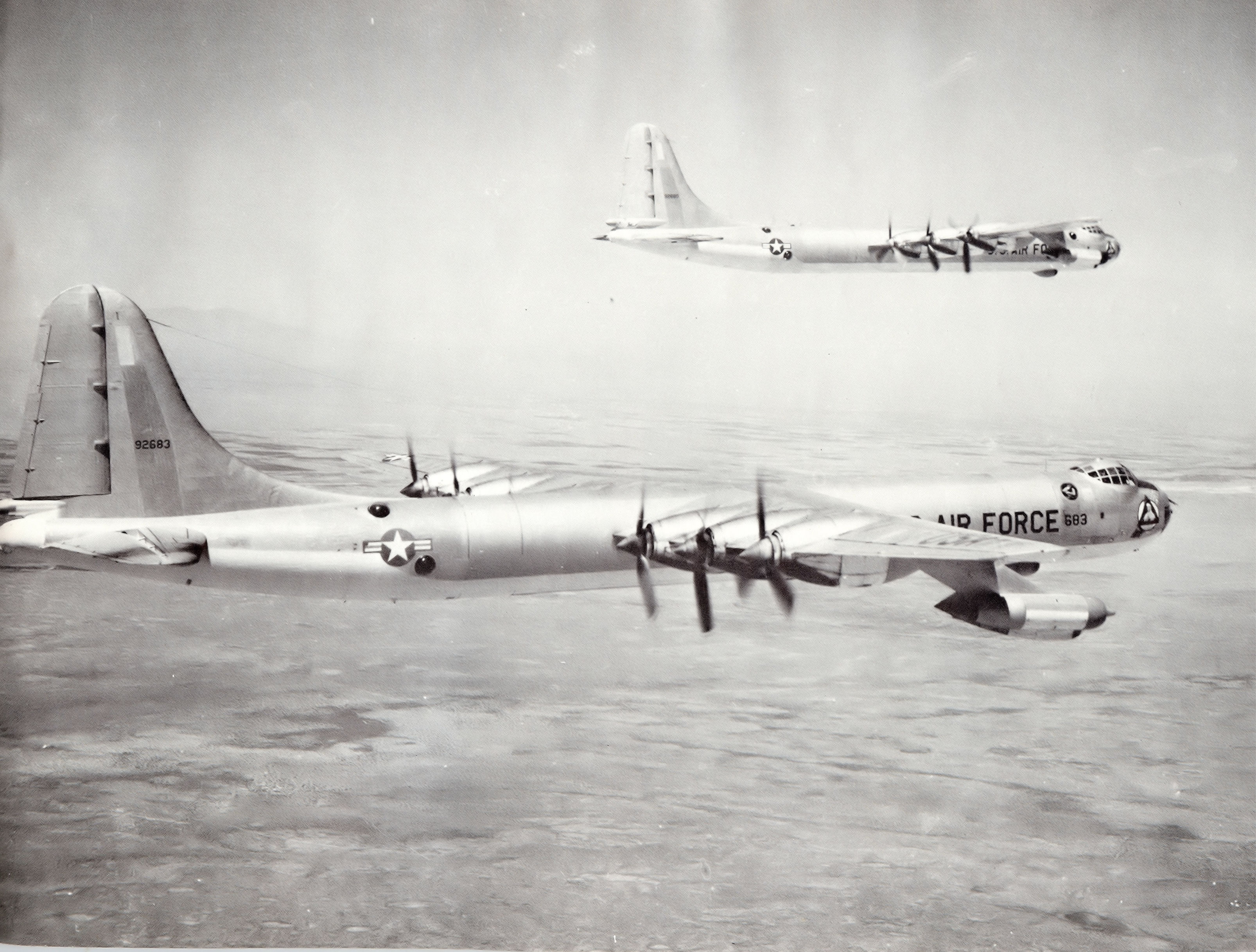 File:6th Bombardment Wing Convair B-36F-5-CF Peacemakers 49-