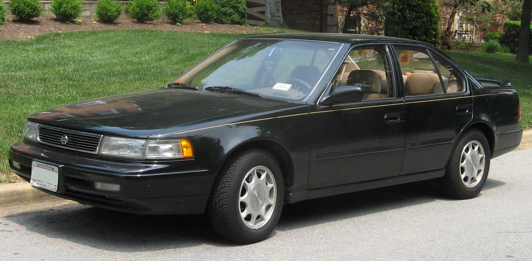 File:92-94 Nissan Maxima.jpg - Wikimedia Commons