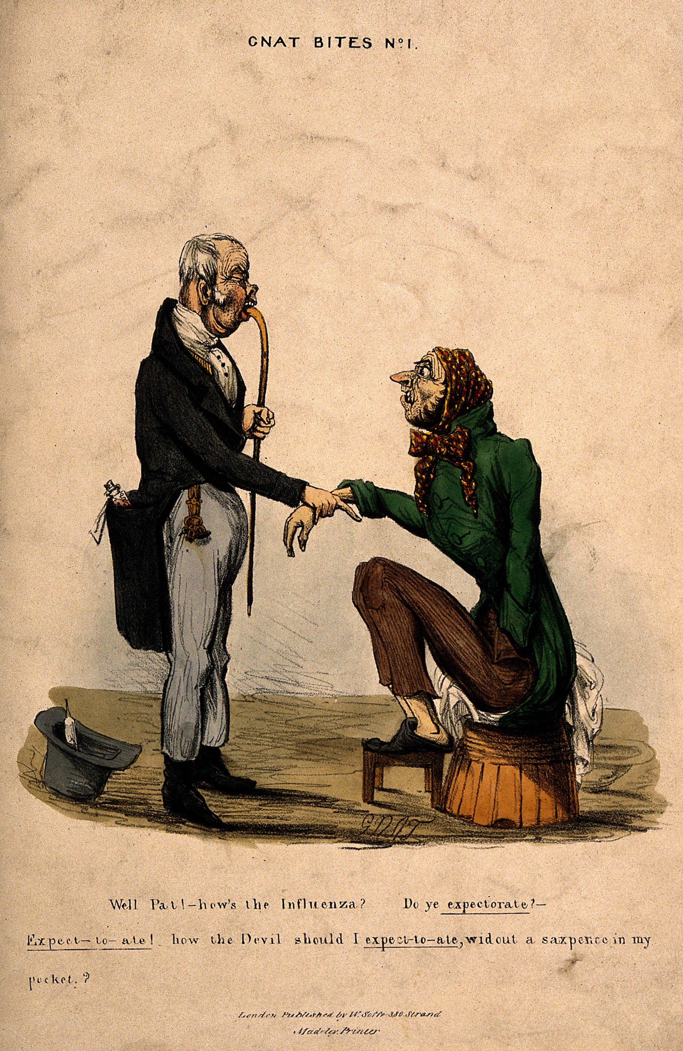 File:A doctor examining a patient and enquiring about his