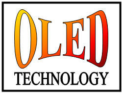 invented nice logo about OLED technology