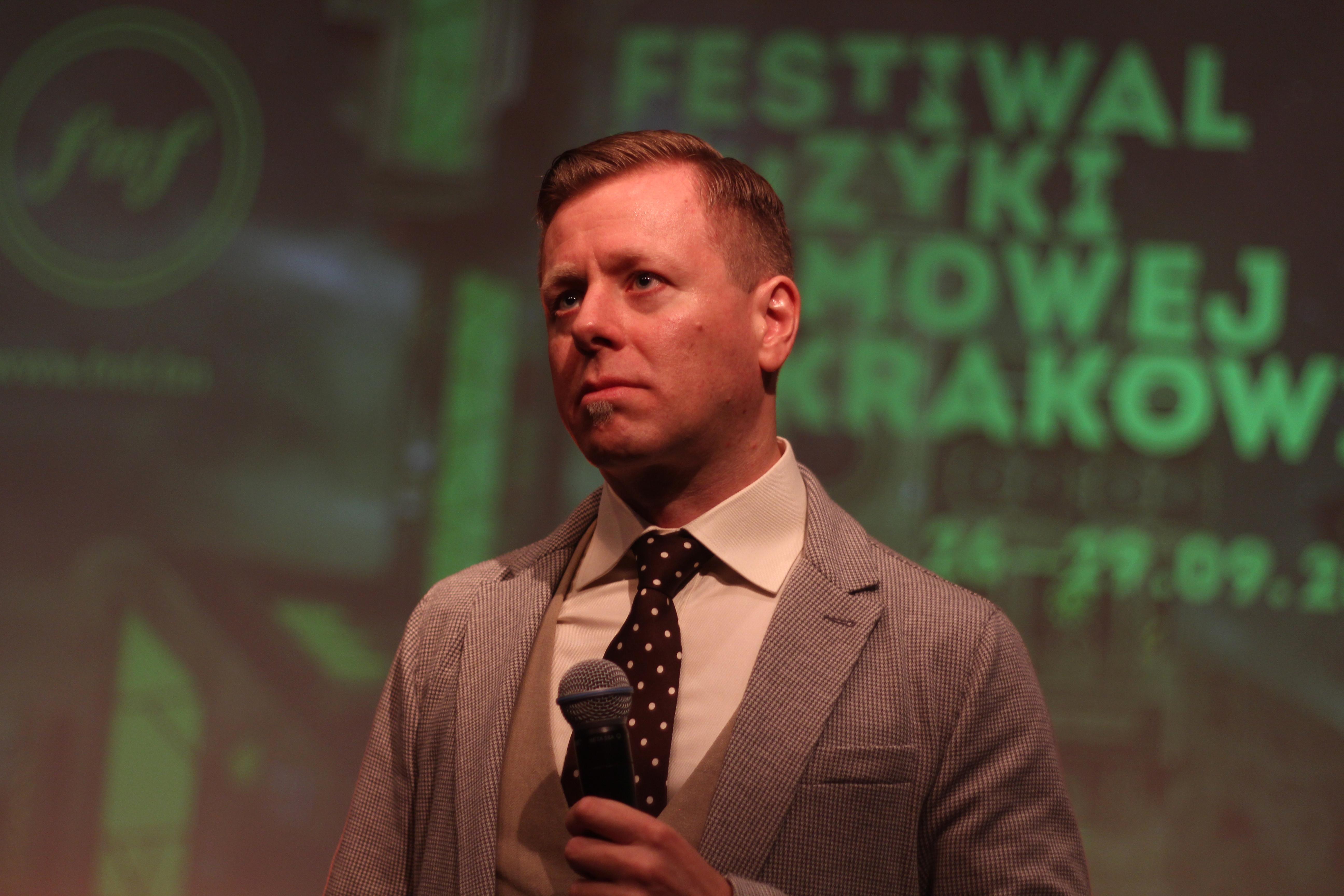 Korzeniowski at Film Music Festival in Kraków, 2013