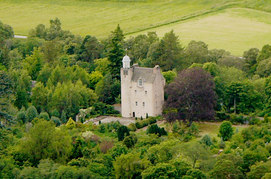 four-floor tower house located near Crathie, Aberdeenshire, Scotland