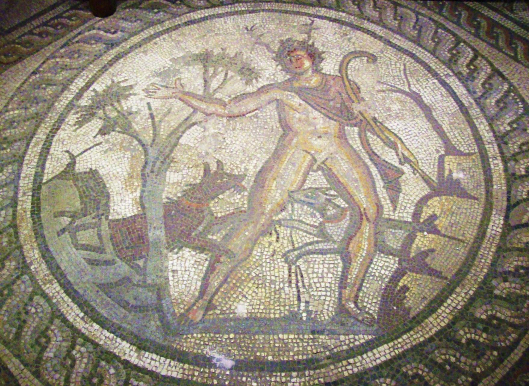 Corinium Museum Mosaics File:actaeon Mosaic Corinium