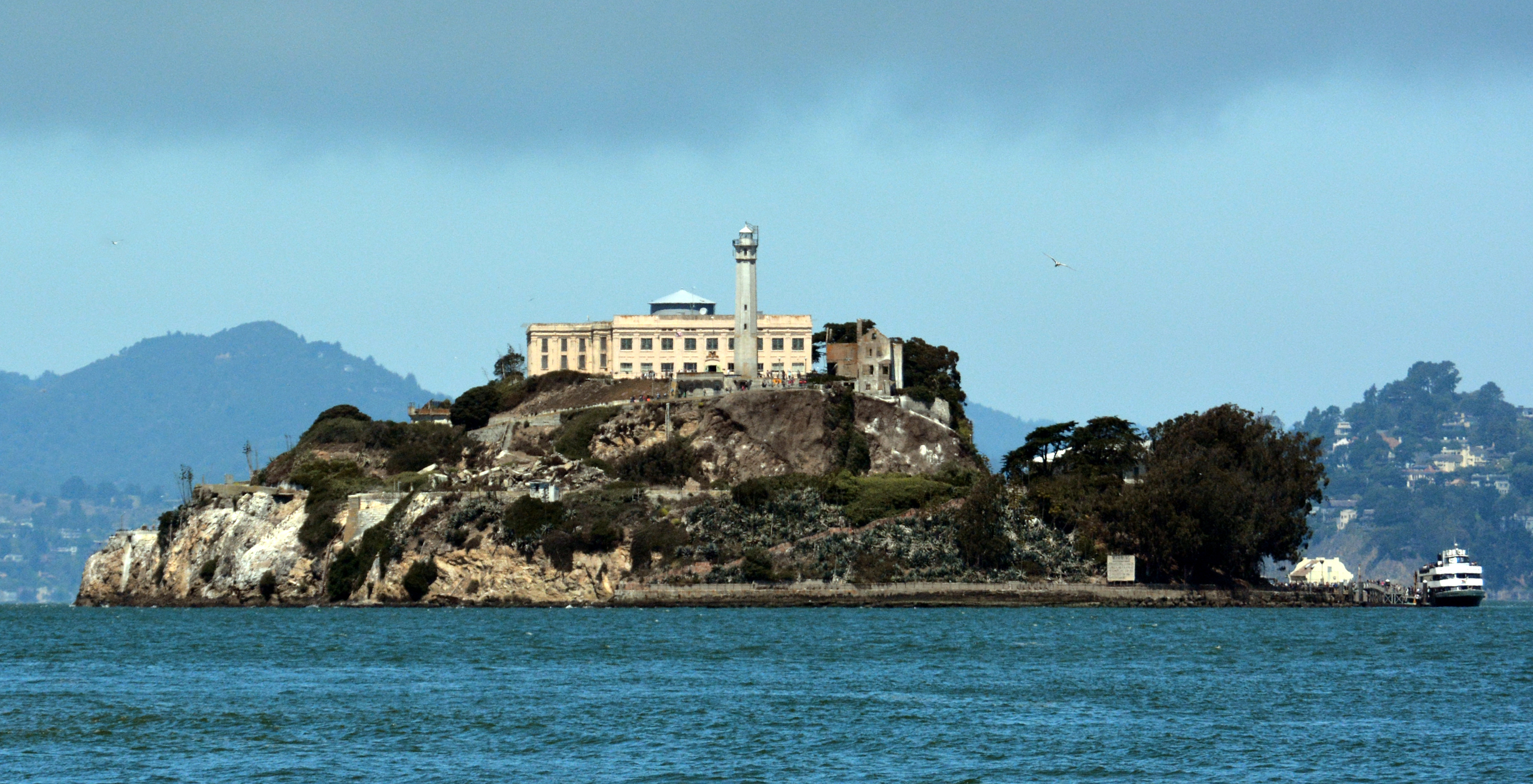 Alcatraz island photo d ramey logan