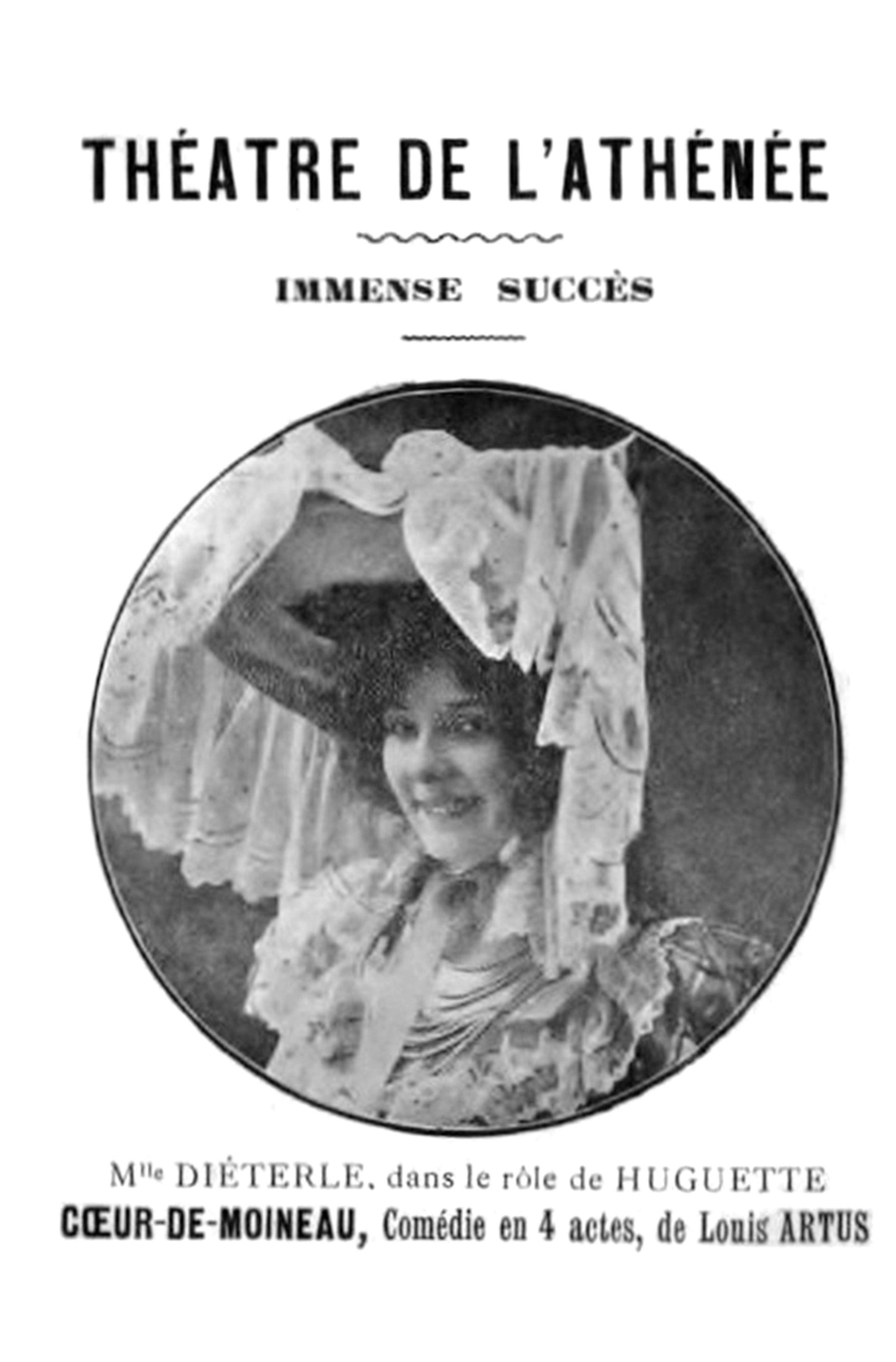 Les Moineaux De La Mariée file:amélie diéterle au théâtre (1905) dans « coeur de