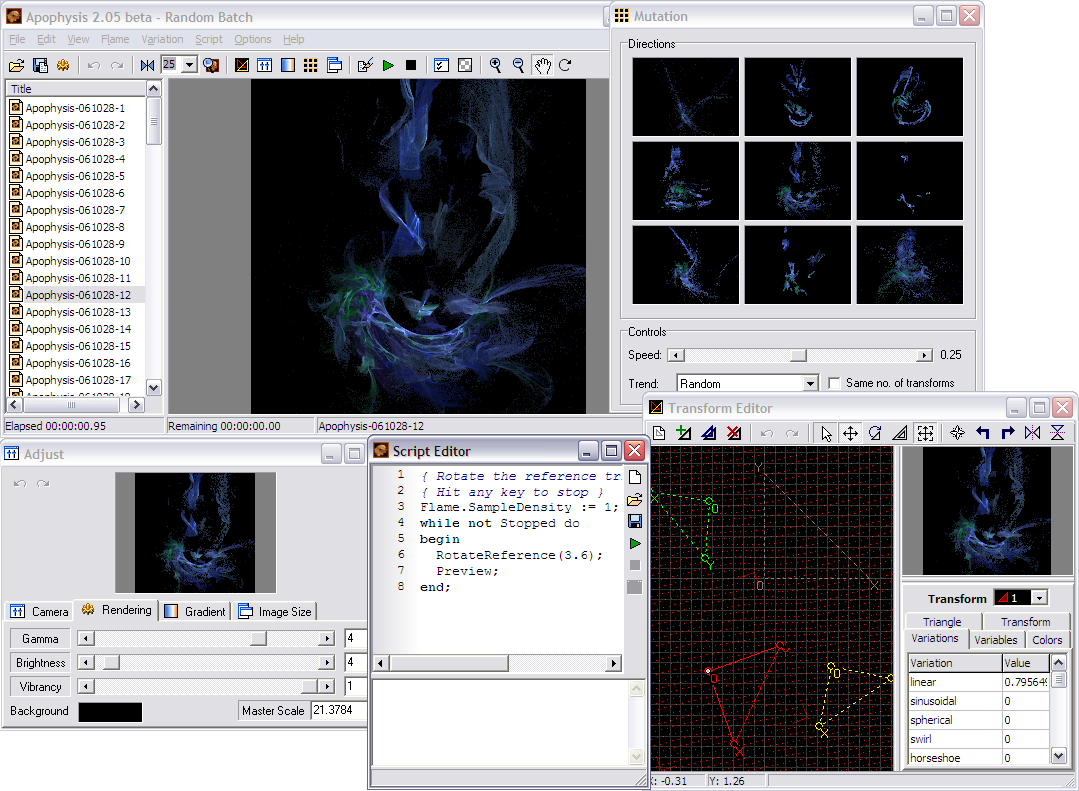 Apophysis  Software
