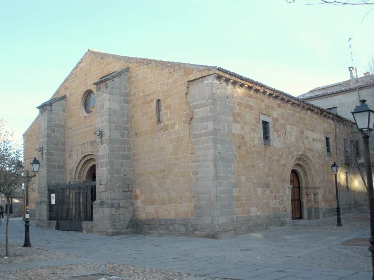 File:Avila - Museo de Avila, Iglesia de Santo Tome el ...