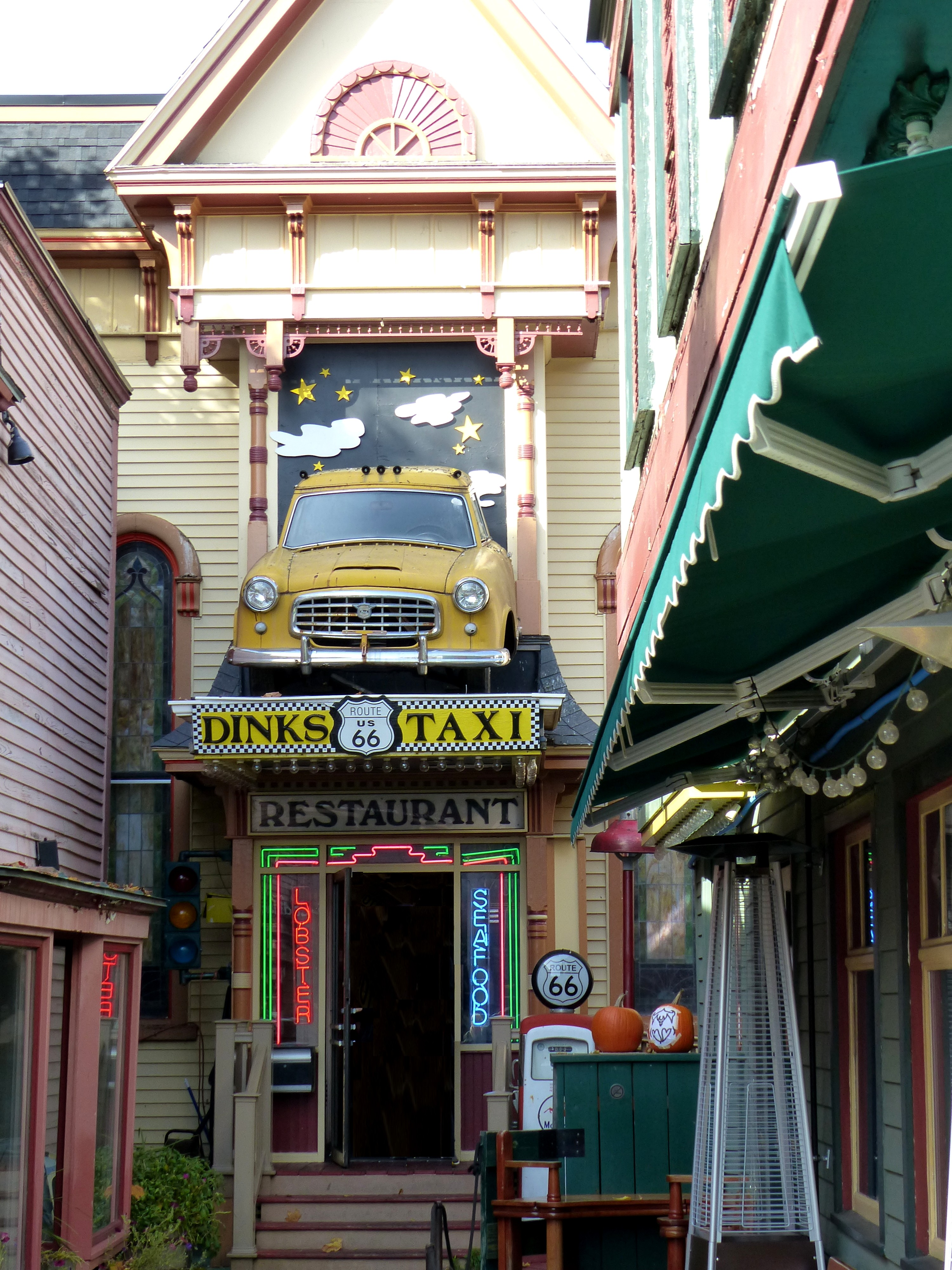 Filebar Harbor Maine Usa Route 66 Restaurant Panoramiojpg