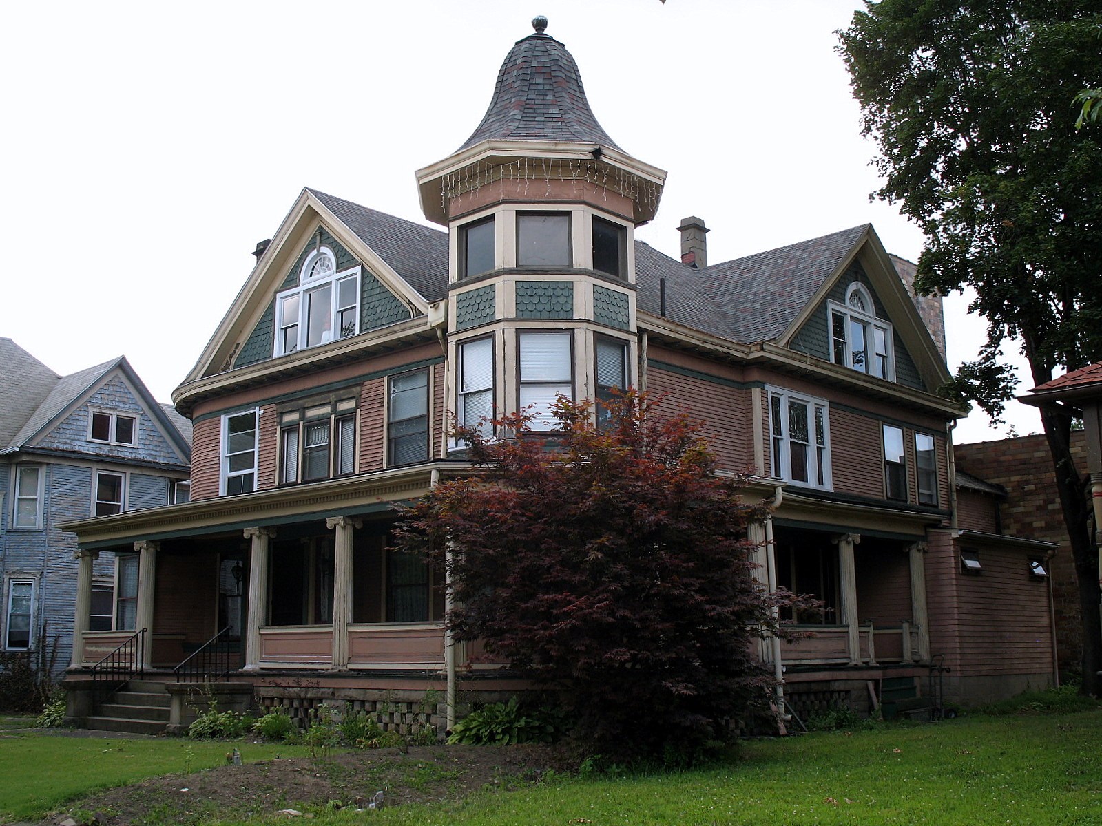 File barber whitticar house 519 cleveland ave sw canton for Building a home in ohio