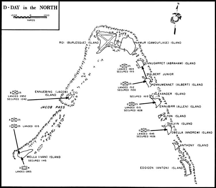 file battle of kwajalein map northern part of kwajalein atoll