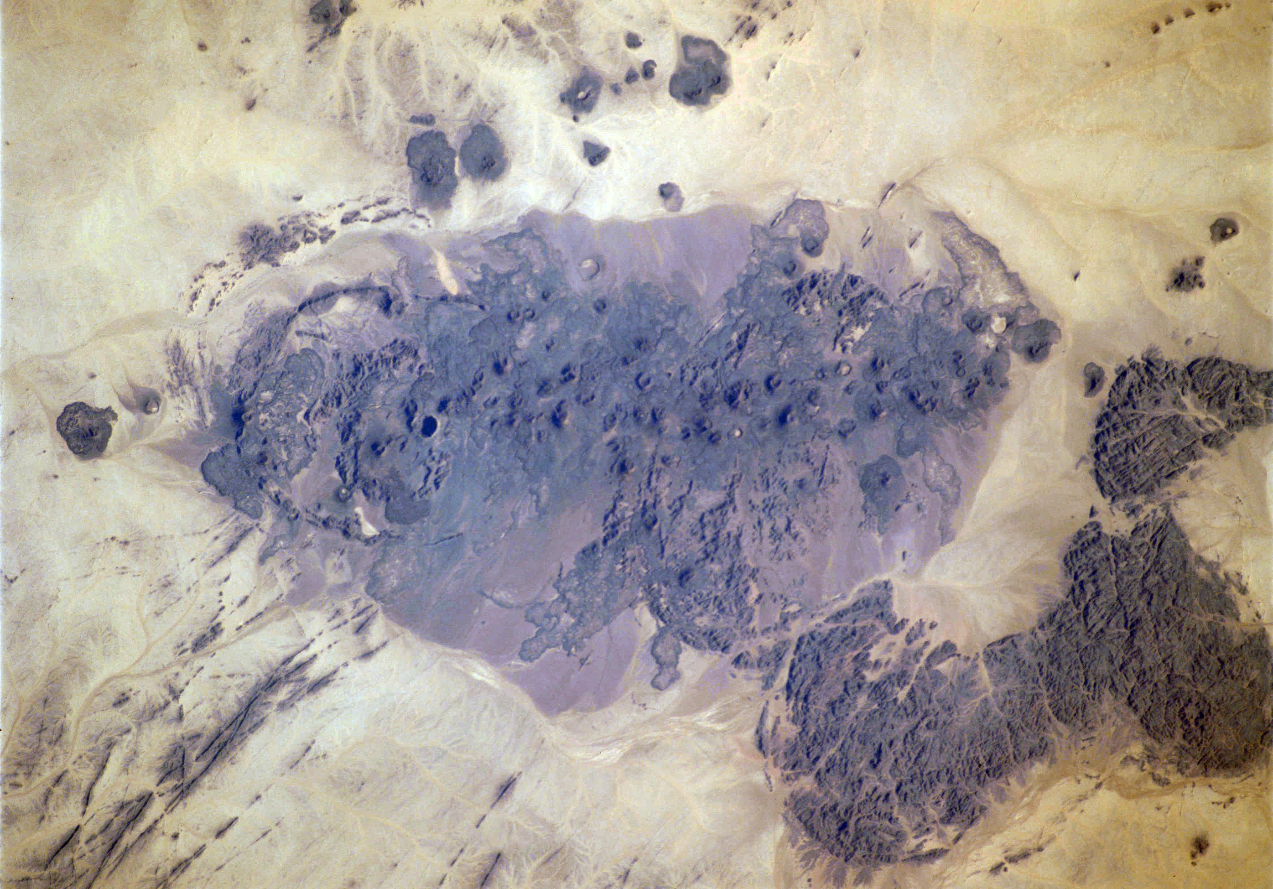 Campo volcánico de Bayuda
