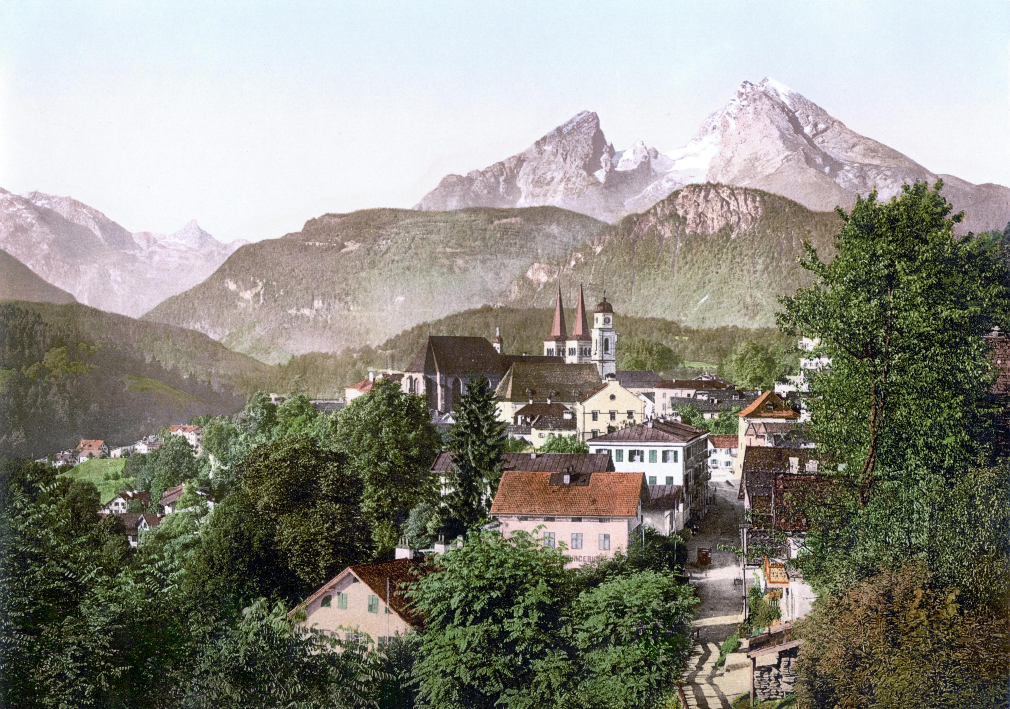 File:Berchtesgaden Watzmann 1900.jpg - Wikimedia Commons