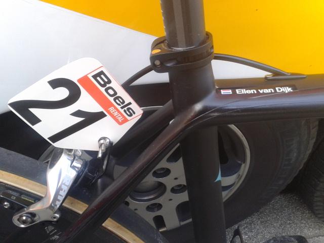 Bicycle of Ellen van Dijk, Ronde van Drenthe.jpg