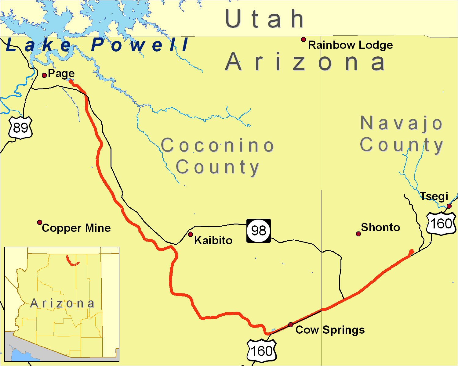 Datei:Black Mesa and Lake Powell RR Map.png – Wikipedia