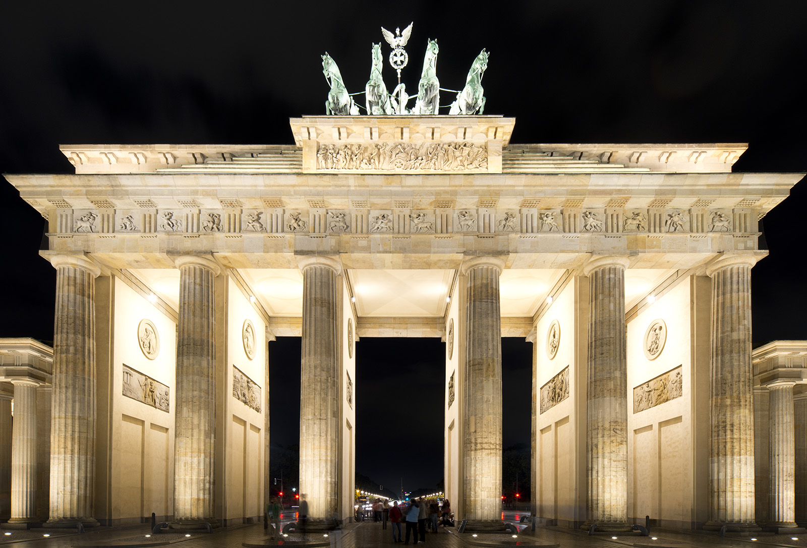 Check Out The Historical Brandenburg Gate In Germany