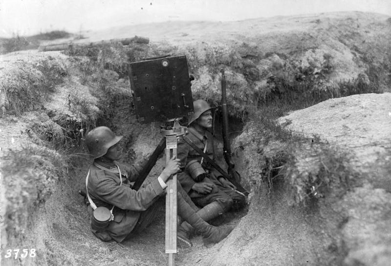 Deutsche Kriegskinematografen an der Westfront, 1917