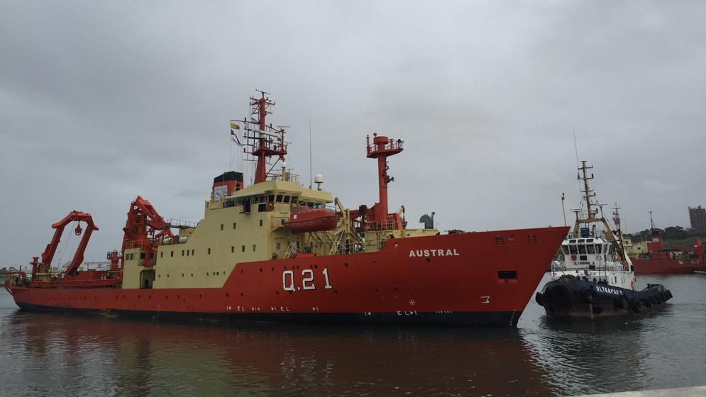 """Resultado de imagen para buque oceanográfico ARA """"Austral"""""""