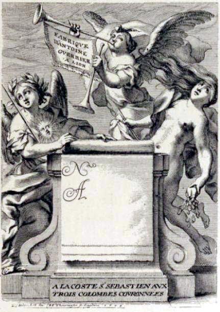 barocke Visitenkarte - die Anfänge