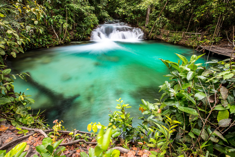 Cachoeira da Formiga, no Parque Estadual do Jalapão