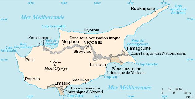 Voir Carte Chypre.Fichier Carte De Chypre Png Wikipedia