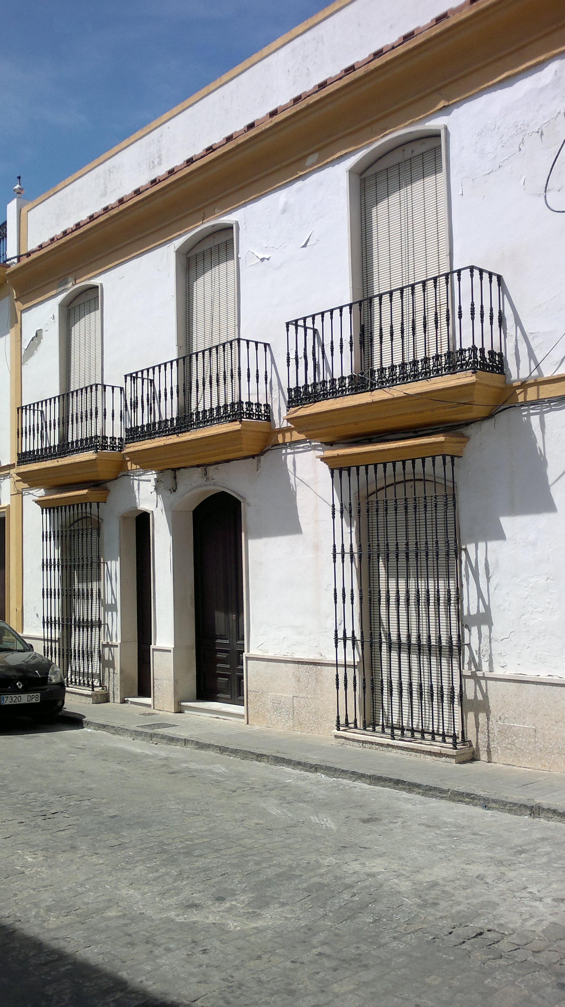 Casa C/Aceña donde vivió entre 1905-1913.